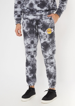 nba los angeles lakers tie dye joggers - Main Image