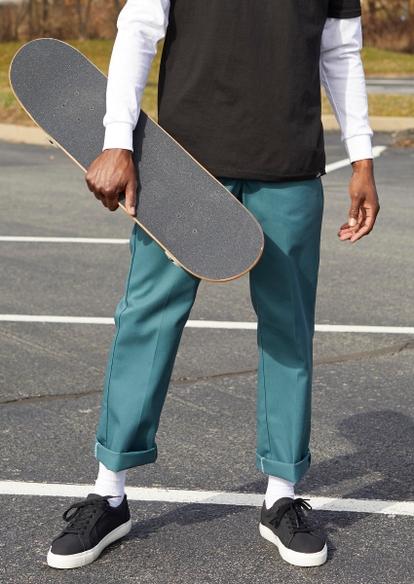 lincoln green dickies original 874 work pants - Main Image