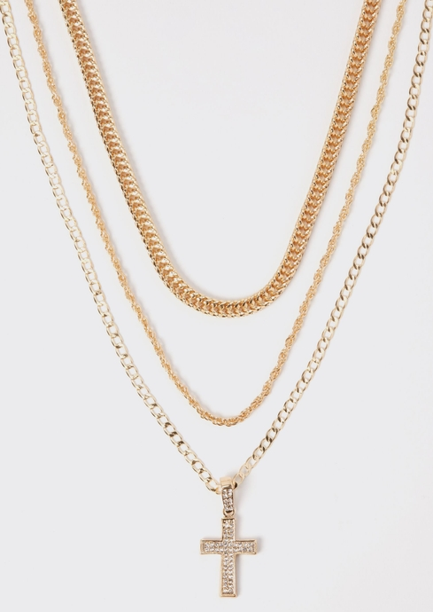 TRIPLE CHAIN NEW CROSS placeholder image