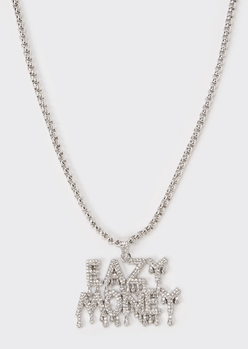 gold eazy money necklace - Main Image
