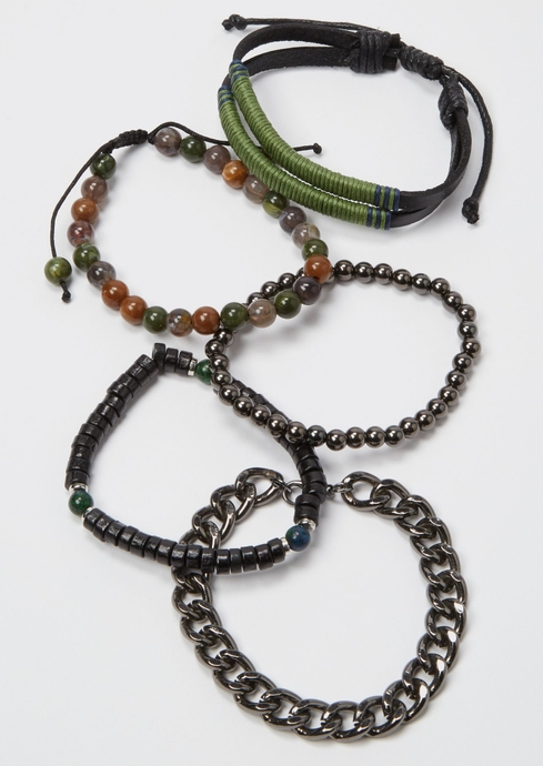 GRY OLIVE CHROME CHAIN placeholder image