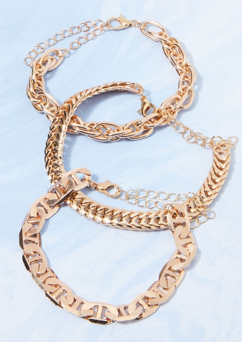 3PK CHAIN MIX GOLD placeholder image