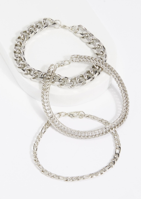 3PK CHAIN MIX SILV placeholder image