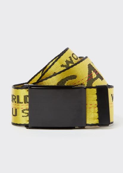 yellow savage hustle worldwide belt - Main Image