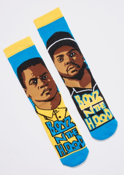 blue boyz n the hood socks - Main Image