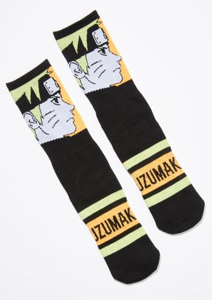 black naruto uzumaki socks - Main Image