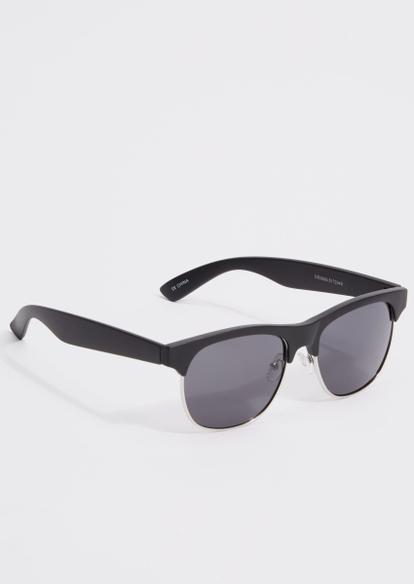 black frame sunglasses - Main Image