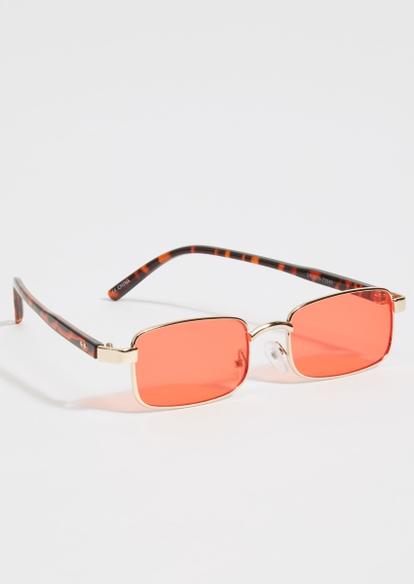red lens micro sunglasses - Main Image