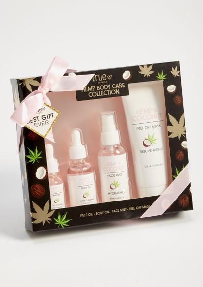 4-pack hemp coconut body care gift set - Main Image