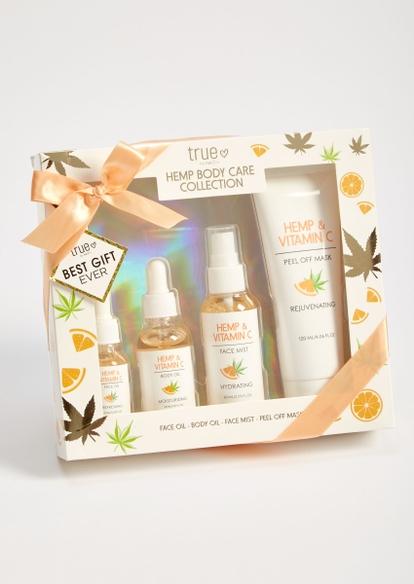 4-pack hemp vitamin c body care gift set - Main Image