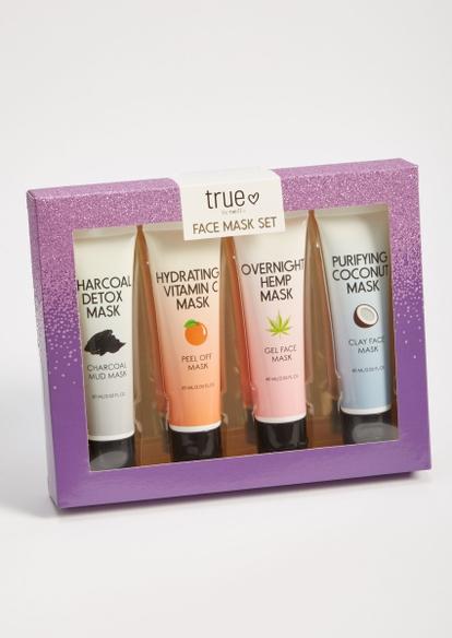 4-pack purifying face mask gift set - Main Image