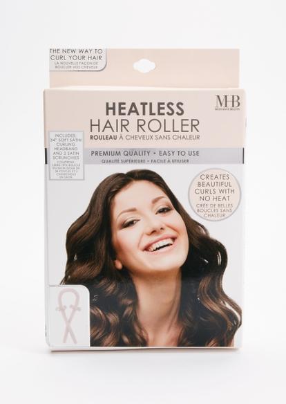 light pink heatless hair curler - Main Image
