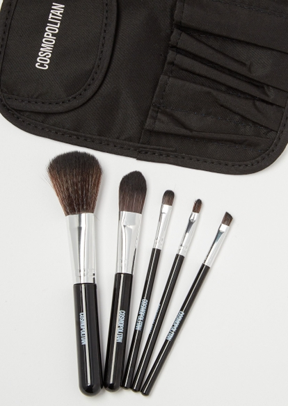 5-pack cosmopolitan makeup brushes - Main Image
