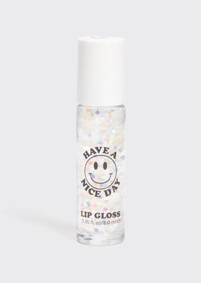 lavender stardust have a nice day clear sparkle vanilla lip gloss - Main Image
