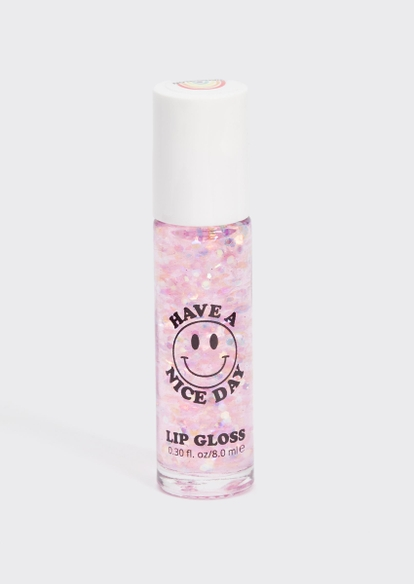 lavender stardust have a nice day watermelon lip gloss - Main Image