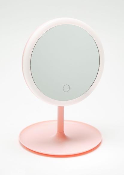 light pink led makeup mirror - Main Image