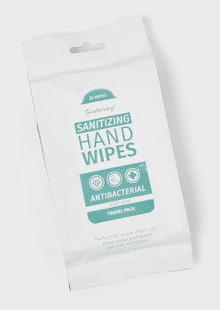 20-pack aloe anti bacterial wipes - Main Image