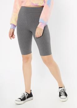 gray super soft bike shorts - Main Image
