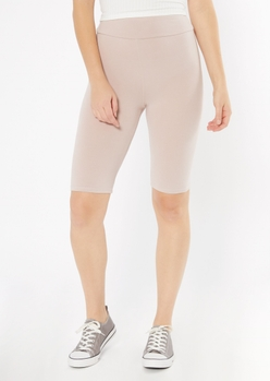nude super soft bike shorts - Main Image