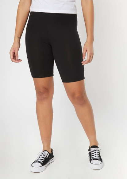 black super soft bike shorts - Main Image