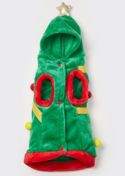 christmas tree plush pet onesie - Main Image