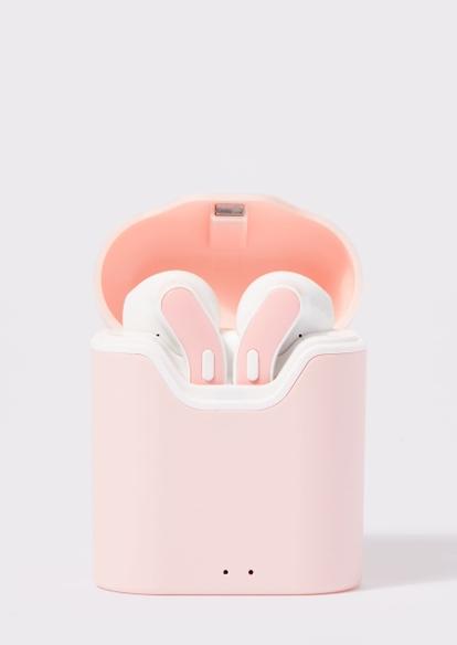 pink truebuds wireless earbuds - Main Image