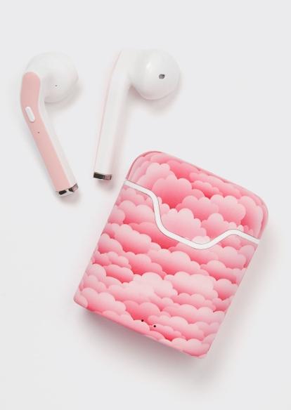 pink cloud truebuds wireless earbuds - Main Image