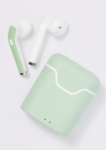 sage print truebuds wireless earbuds - Main Image