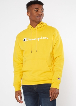 champion gold logo hoodie - Main Image