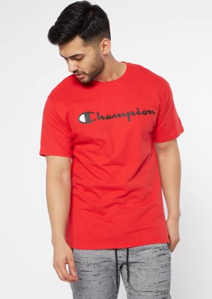 champion red logo tee - Main Image