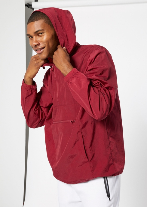 PACKABLE NYLON ANORAK placeholder image