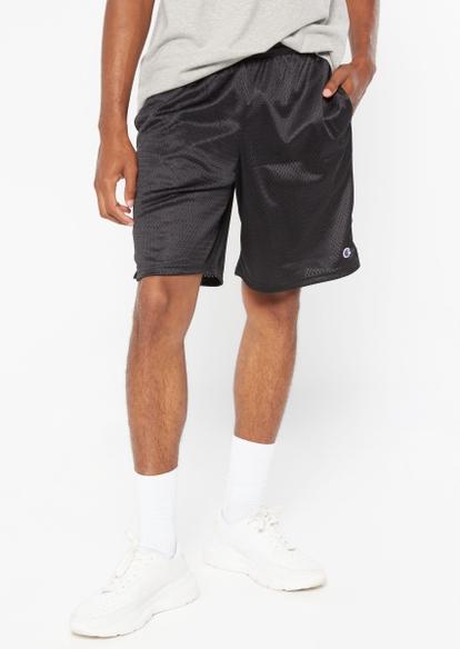 champion black classic mesh shorts - Main Image