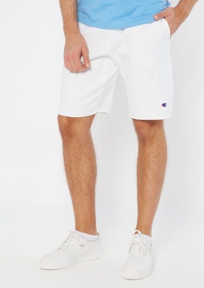 champion white knit shorts - Main Image