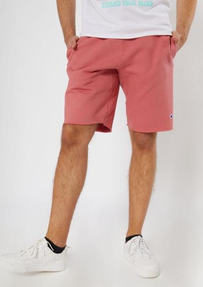 champion pink knit shorts - Main Image