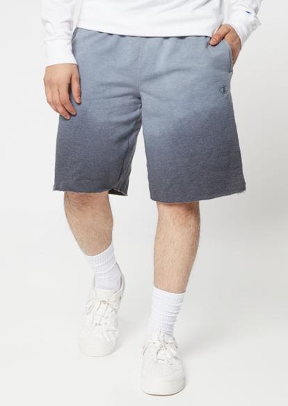 champion black ombre knit shorts - Main Image