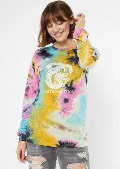 tie dye limited edition dragon graphic tee - Main Image