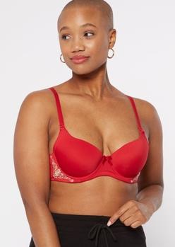 red convertible t-shirt bra - Main Image