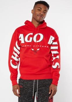 nba chicago bulls team sleeve hoodie - Main Image