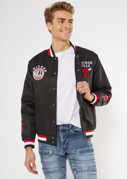 nba chicago bulls varsity jacket - Main Image