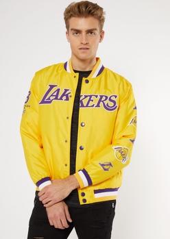 nba los angeles lakers varsity jacket - Main Image