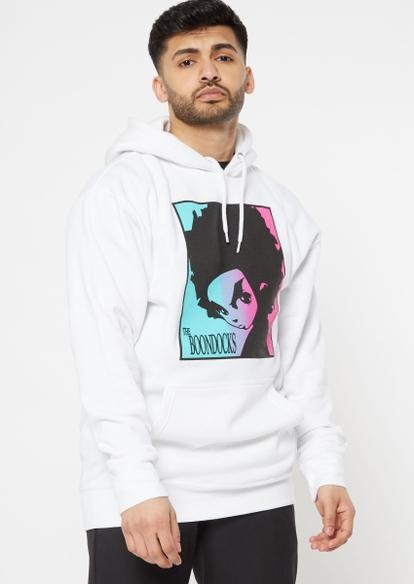 white boondocks graphic hoodie - Main Image