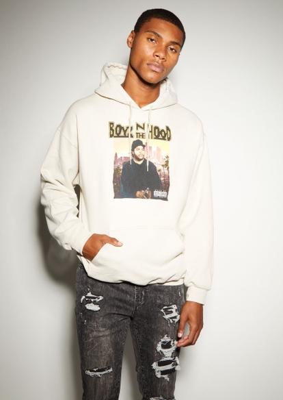 sand boyz n the hood graphic hoodie - Main Image