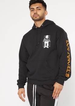 black death row records hoodie - Main Image