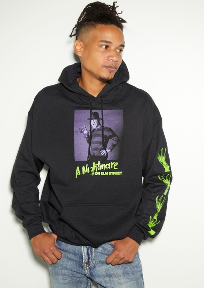 black friday the 13th graphic hoodie - Main Image
