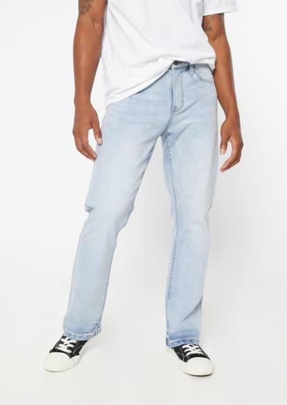 light wash bootcut jeans - Main Image