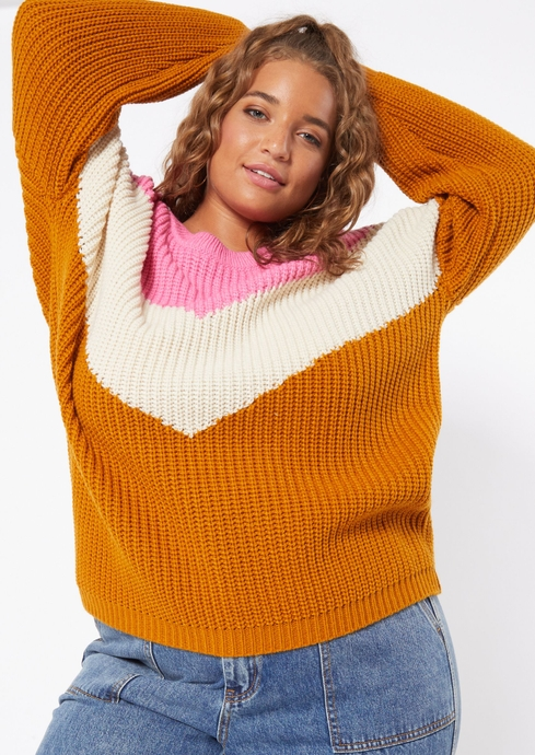 CHEVRON PULLOVER placeholder image