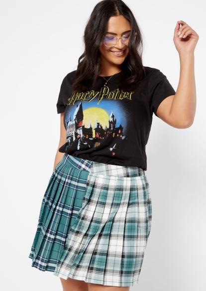 plus harry potter hogwarts graphic tee - Main Image