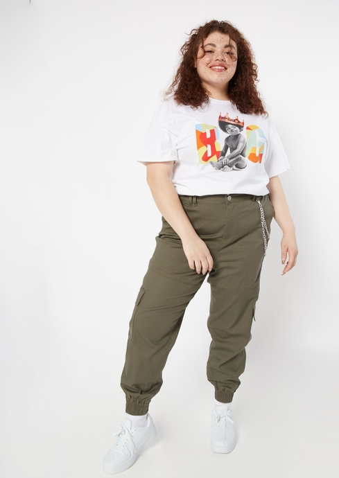 CHAIN DTL CARGO PANT placeholder image