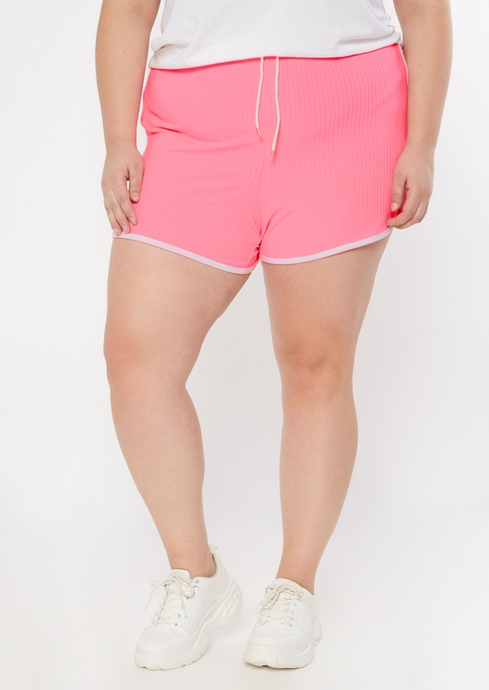 RIBBED TIE SHORTS placeholder image