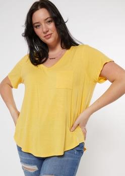 plus yellow favorite tunic tee - Main Image